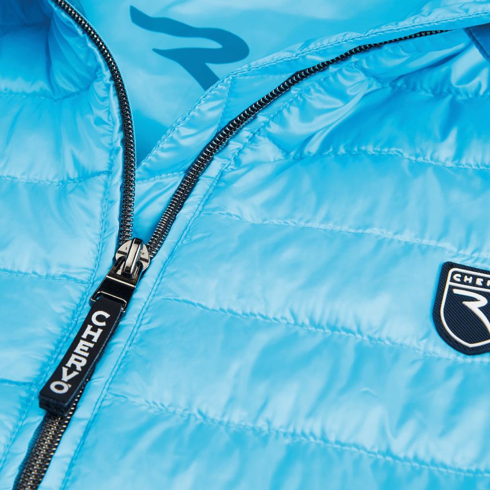 detail produktfotografie herren mode blaue jacke für onlineshop