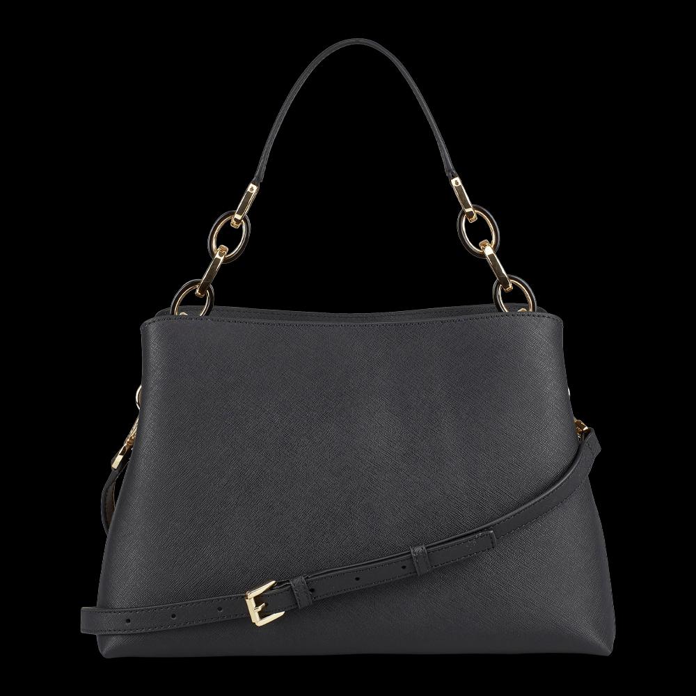 freigestellte produktfotografie schwarze handtasche michael kors für onlineshop