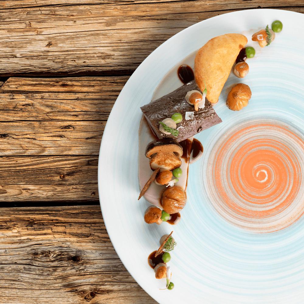 foodfotografie mediterrane hotelküche in südtirol