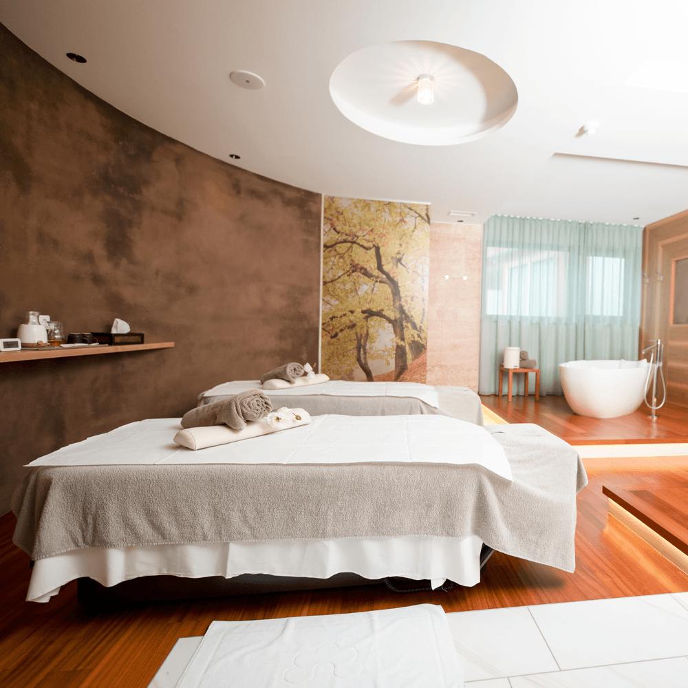 architekturfotografie erholsamer wellnessbereich in südtirol